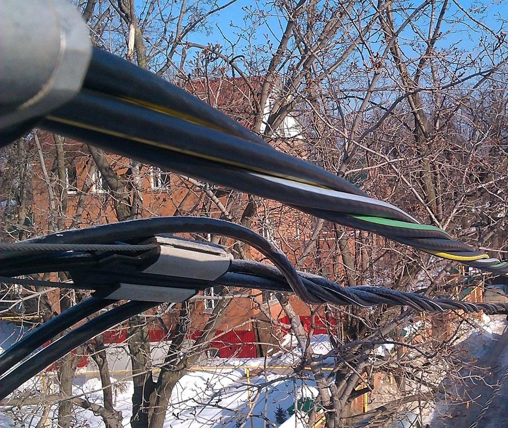 Подключение электроснабжения